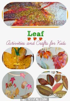 Leaf Activities and Crafts for Kids on ATK