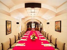 Jumeirah Grand Hotel Via Veneto, Rome - Sala Ruhlmann Boardroom Setup