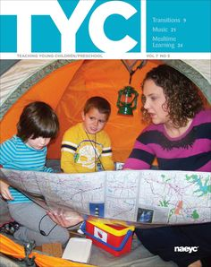 June/July 2014 - Highlights include transitions, music, and mealtime learning! Read about sharing your practice and establishing mutually respectful and professional relationships with your fellow teachers in this issue!