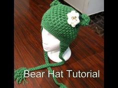Bumpy Bear Beanie - Crochet Tutorial