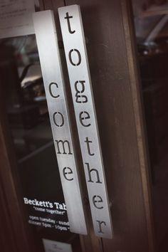 Front door handles, Beckett's Table, Phoenix AZ