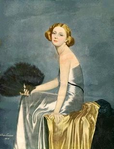 ▴ Artistic Accessories ▴ clothes, jewelry, hats in art - Helier Cosson (1897-1976)