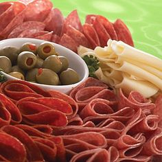 Large Italian Meat & Cheese Platter