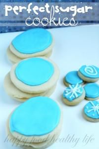 Perfect Sugar Cookies. These are the best for cutting out in any shape!
