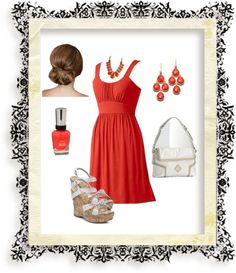 """""""Classic summer look"""" by tsartin001 ❤ liked on Polyvore"""