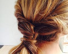 How to create a beach-inspired French twist in 10 minutes | #GiadaWeekly
