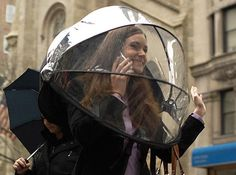Hands Free Umbrella - Take My Paycheck | The coolest gadgets, electronics, geeky stuff, and more! Shut up and take my money!
