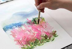 Great watercolor tutorial! craft art, watercolor techniques, colors, watercolour tutori, watercolor basic, art tips, water color pencil tutorial, painting tutorials, watercolor tutorials