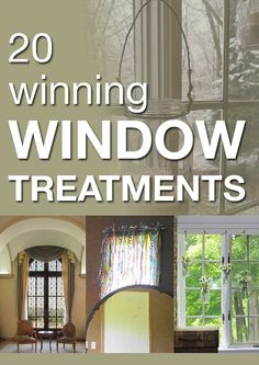 Amazing window treatments to inspire you!
