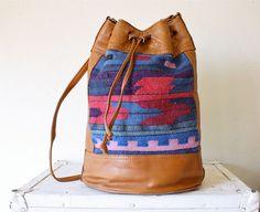 tribal blanket bag