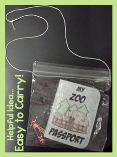 Zoo field trip bundle. Cute 32 page mini passport booklet plus many other printables. $ #education #printables