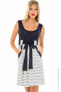 Maternity Clothes: Olian Maternity Gena Dress - Click to enlarge
