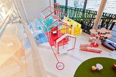 apostrophy's colorizes living for tomorrow exhibit in bangkok - designboom | architecture & design magazine