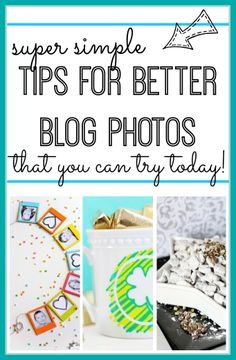 here are some super simple Tips for Blog Photos - anyone can try these!! ~ Sugar Bee Crafts