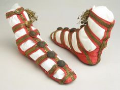 Shoes ca. 1800-1810 via Manchester City Galleries