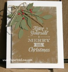 Stampin Up Have Yourself 1