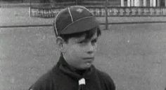 Prince Andrew as a Cub Scout