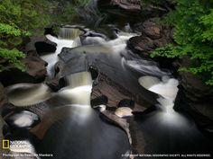 Waterfalls In Michigan