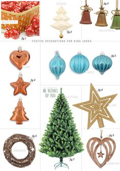 Play.com Christmas Decorations For Nine Different Looks