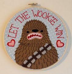 Star Wars stitching #embroideryhoop