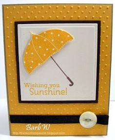 card idea, stamp sets, craft, shower stampin, papers, scrapbook, cards, april showers, umbrella card