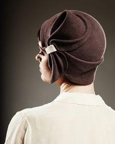 1920s flapper hat by Milliner Behida Dolic