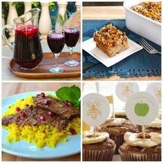 rosh hashanah menus and recipes