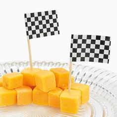 Cute idea for your party snacks, Daytona 500 party