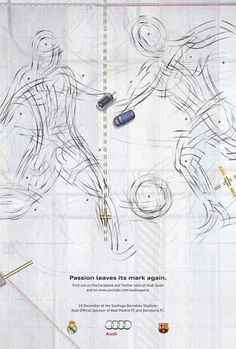 Audi: Passion leaves its mark again | #ads #marketing #creative #werbung #print #advertising #campaign < found on www.designresourcebox.com pinned by www.BlickeDeeler.de | Follow us on www.facebook.com/BlickeDeeler   #btl #advertising www.rx4gigs.com