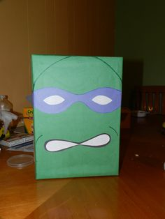 Ninja turtles valentines box