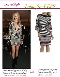 Rosie Huntington - Whitley Look For Less #ThisisStyle #Cbias #shop