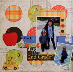 Back 2 School - Scrapbook.com