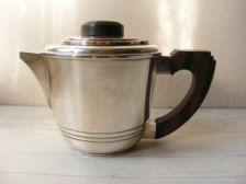 Art Deco coffee pot deco french, coffe pot, coffeechocol pot, vintag coffe, antiqu vintag, french teapot, art deco, antiques, deco coffe