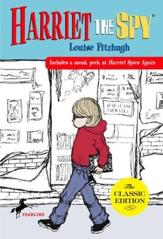 Harriet the Spy by Louise Fitzhugh http://www.amazon.com/dp/0440416795/ref=cm_sw_r_pi_dp_rtw9tb07BVWAN