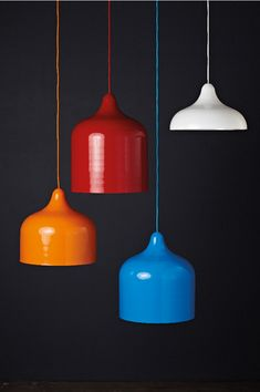 'Popper' pendant lights by Andre Hnatojko, the tenth nominee for the Temple & Webster and Inside Out Emerging Designer Award. Vote now: http://www.templeandwebster.com.au/eda/