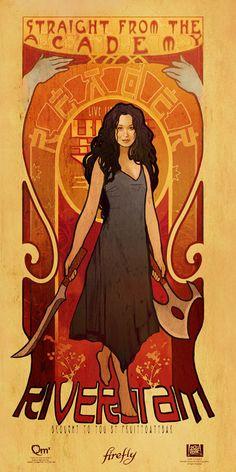River Tam (portrayed by Summer Glau)