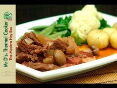 Mr D's French Beef Bourguignon with the thermal cooker