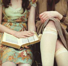 sock, vintage books, cover books, the dress, reading books, vintage book covers, classic books, friend, floral dresses
