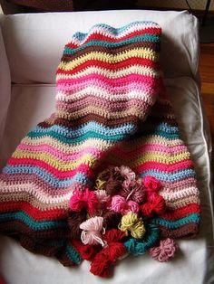 Crochet blanket, inspiration.**Pretty :-)..**