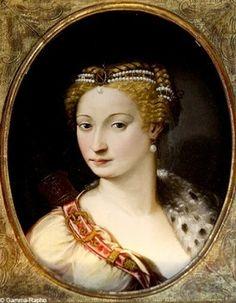 Diane de Poitiers, mistress to Henri II. Grand Senechal(e) of Normandy, Countess of Saint-Vallier, Duchess of Étampes, Duchess of Valentinois