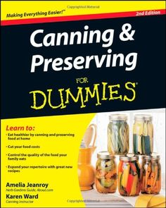 Canning and Preserving For Dummies $9.94