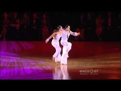 Matthew Hauer and Karen Hauer (2009 AR Show Dance)