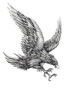 Eagle by A.M. Konahins