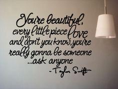 *Taylor Swift.
