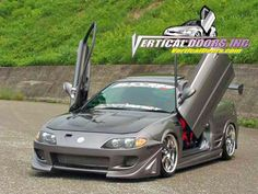 Acura Integra - Who needs a man when you have these doors?... j/k ;-)