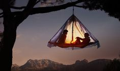 Camping to the extreme in Bavaria