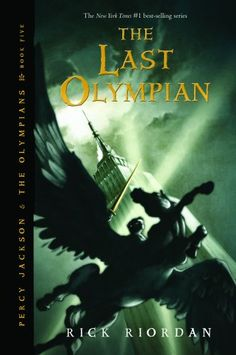 Percy Jackson books, this one's my favorite one from the series! [:
