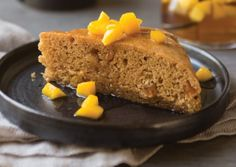 Mango Spice Cake with Mango Compote