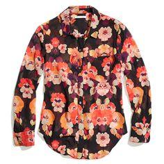 Mirrorflower Boyshirt/ Madewell.com