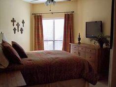 Master bedroom, unit A116 Inverness at New Braunfels